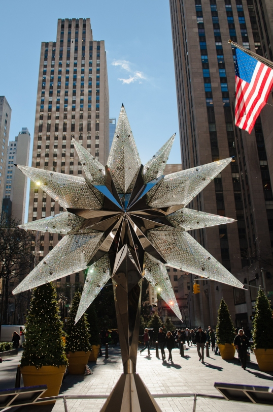 Thanks Swarovski - Rock Center needed some adornment
