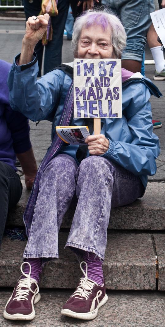 OWS - Union Square - April