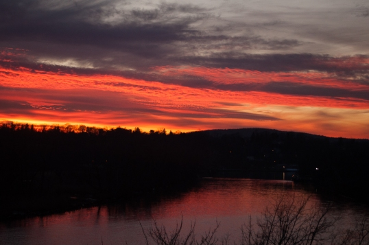 Saugerties Sunset 1-6-12-0319