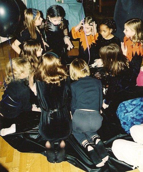 Addams Family Birthday party Play