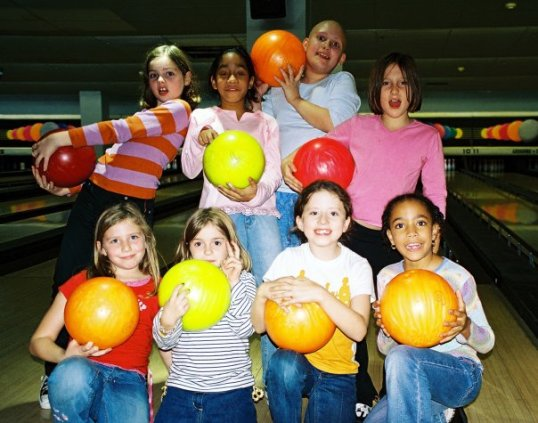 Bowling party age 10