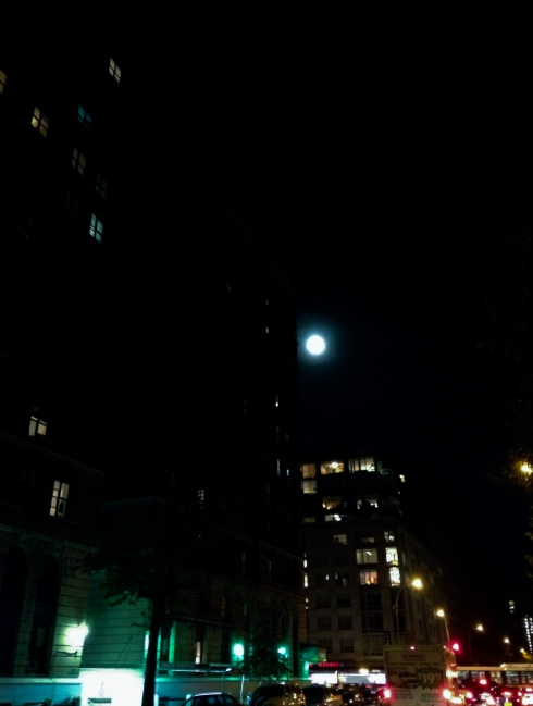 Moon over Morningside